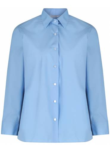 Long sleeved, button up sky blue blouse (2 pack), St David's College, Bomere Heath Primary, Denbigh High School, Moreton Hall, Shrewsbury Cathedral Catholic Primary, Shrewsbury High Prep School, General Schoolwear